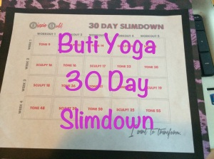 The monthly plan with a little bit of Zumba and Hot Yoga into the mix.  Maybe even some Piyo!